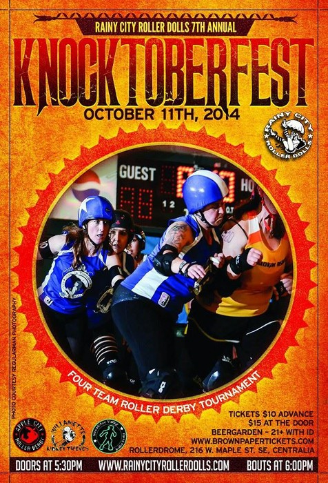 Rainy City Roller Dolls Knocktoberfest